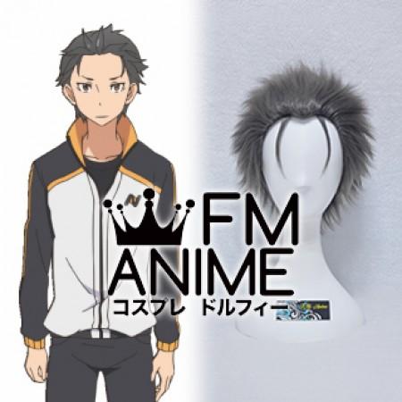 Re Zero Starting Life In Another World Subaru Natsuki Cosplay Wig