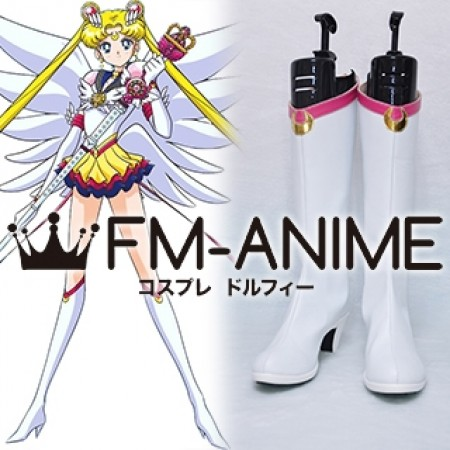 Sailor Moon Cosplay Boots yellow moon Size 5 6 or 11 Red