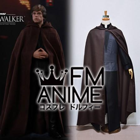 Lovely Star Wars: Episode VI Return Of The Jedi Luke Skywalker Cosplay Costume