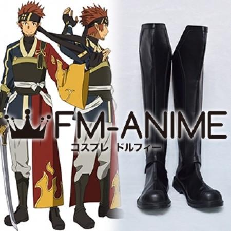 Sword Art Online 2 Klein Ryotaro Tsuboi (ALfheim Online ALO) Cosplay Shoes Boots