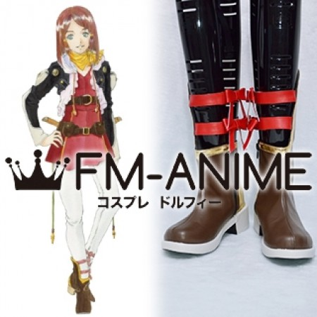 Tales of Zestiria (series) Rose Cosplay Shoes Boots