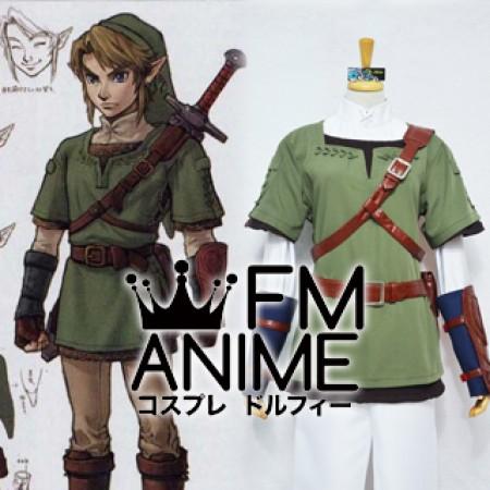 & The Legend of Zelda: Twilight Princess Link Cosplay Costume