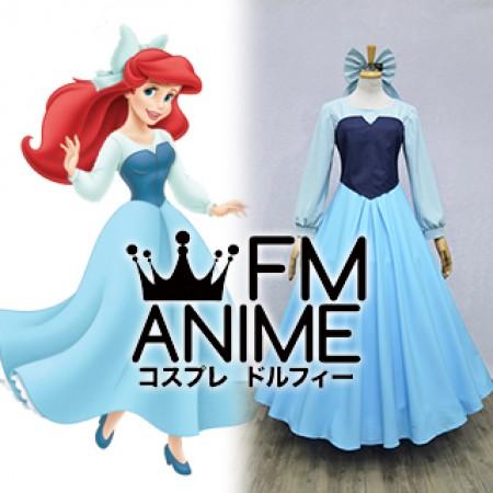 The Little Mermaid (Disney) Ariel Blue Dress Cosplay Costume