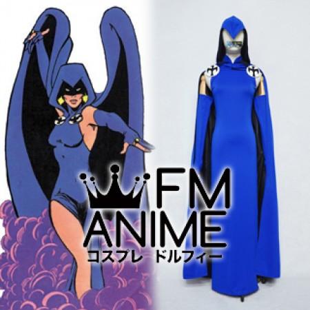 DC Comics The New Teen Titans 1980's comic Raven Cosplay Costume