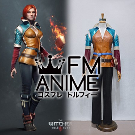 The Witcher 3: Wild Hunt Triss Merigold Cosplay Costume