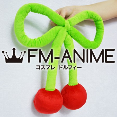 [Display] Vocaloid Hatsune Miku Sakura 2012 Version Cosplay Cherry Accessories Plush Doll