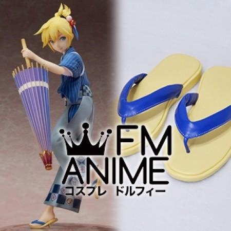 Vocaloid Kagamine Len Hanairogoromo Version Cosplay Shoes