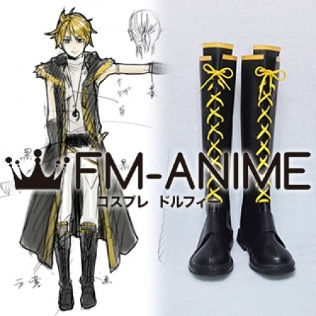 Vocaloid Kagamine Len Synchronicity Cosplay Shoes Boots