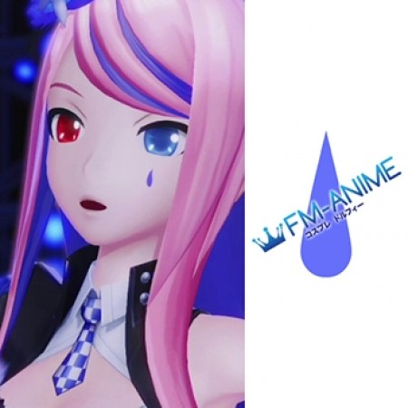 Vocaloid Hatsune Miku: Project DIVA X Dominant Stone Megurine Luka Cosplay Tattoo Stickers