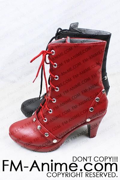 dc comics batman arkham knight harley quinn cosplay shoes