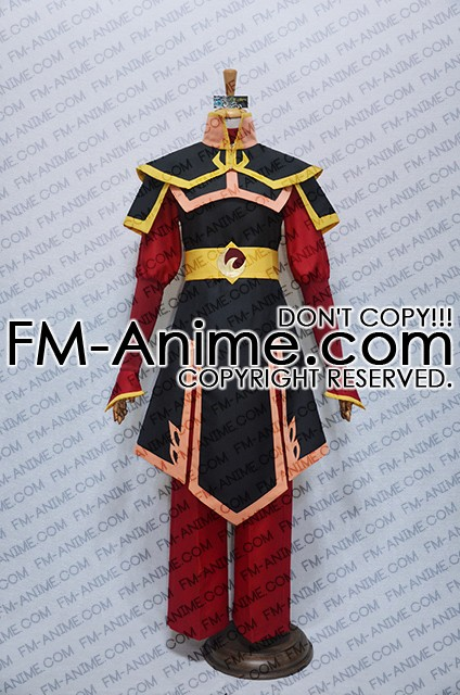 avatar the last airbender azula cosplay costume