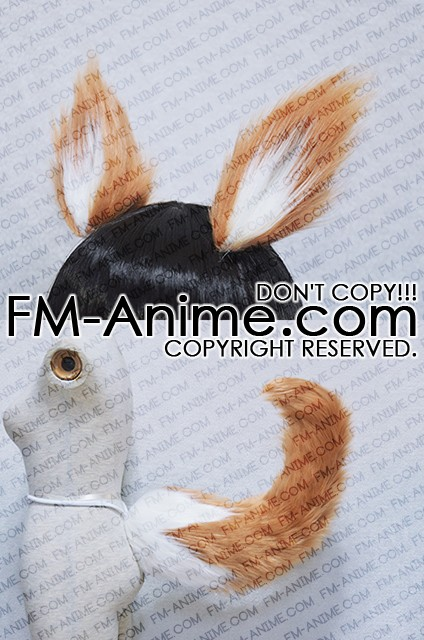Fate Extra Tamamo No Mae Caster Brown White Fluffy Ears Tail