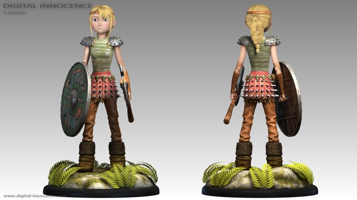 How to train your dragon astrid hofferson cosplay costume ccuart Image collections