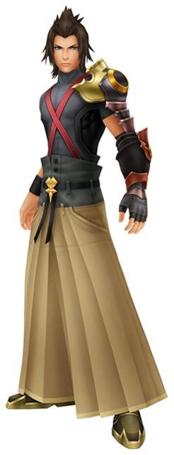 Kingdom Hearts Terra Cosplay Costume Kingdom Hearts Costumes