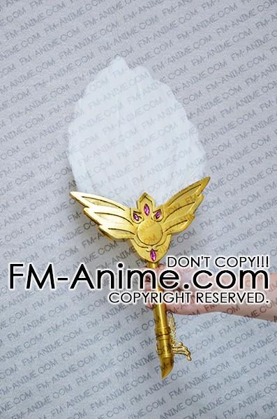 MAGI Haku-ei Ren/'s Fan and Hair Accessories PVC Cosplay Prop