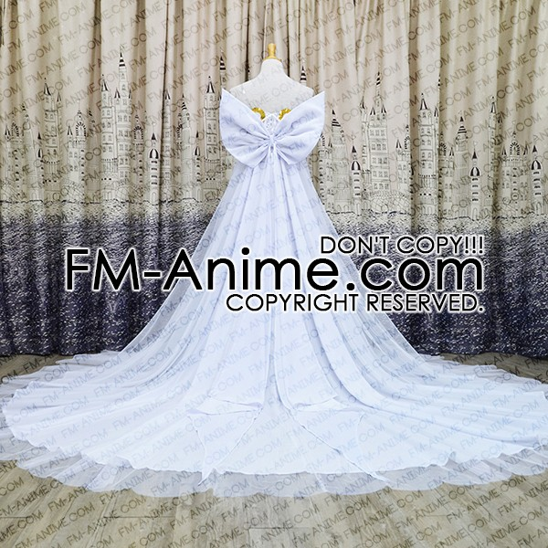 Sailor Moon Princess Serenity Dress Cosplay Costume Set with ...
