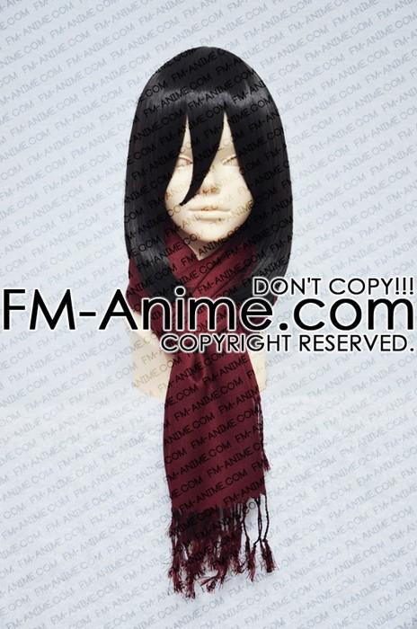 Attack On Titan Mikasa Ackerman Cosplay Costume Wine Red