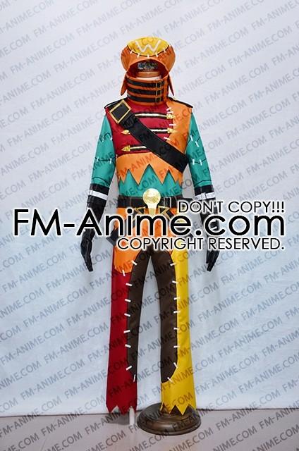 Hackgu Last Recode Tri Edge Azure Flame Kite Cosplay Costume