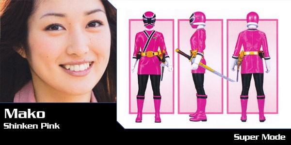 Super Sentai Series Samurai Sentai Shinkenger Mako Shiraishi