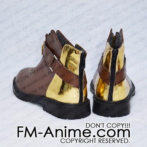 Kingdom Hearts Aqua Shoes Cosplay Women Mens Shoes Boots Custom Made Game Aound