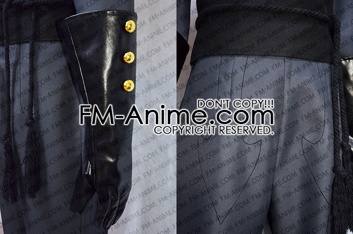 game Julian Military Uniform Cosplay Costume Outfit Cloak Jacket The Arcana
