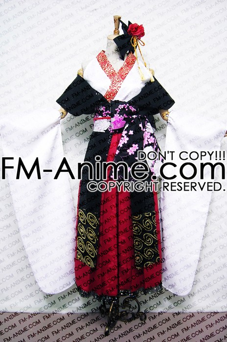 [Display] Vocaloid Kagamine Len Fleeting Moon Flower Cosplay Costume