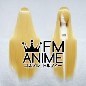 100cm Medium Length Straight Prince Gold Cosplay Wig