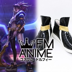 League of Legends K/DA Akali Virtual K-pop Band Cosplay Shoes