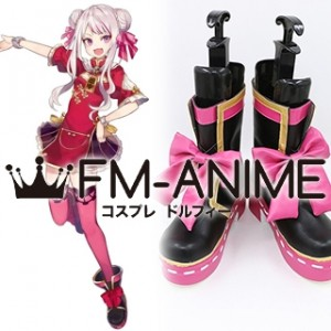 Virtual YouTuber Tanaka Hime Cosplay Shoes Boots