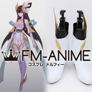 League of Legends Divine Sword Irelia Cosplay Shoes Boots