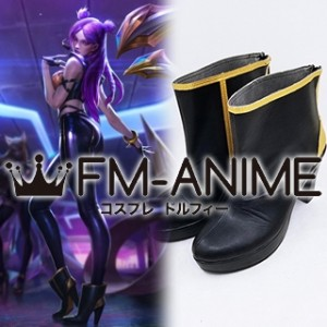 League of Legends K/DA Kai'Sa Virtual K-pop Band Cosplay Shoes Boots