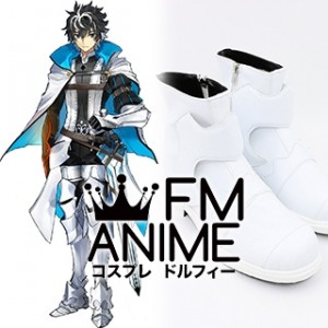 Fate/Extella Link Saber Charlemagne Cosplay Shoes Boots