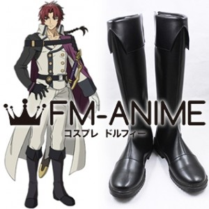 Seraph of the End Crowley Eusford Cosplay Shoes Boots
