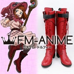 My Hero Academia Ochako Uraraka ED2 Witch Cosplay Shoes Boots