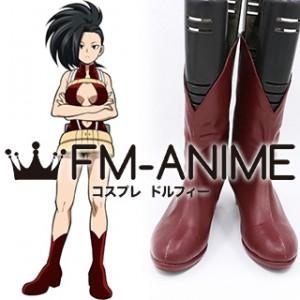 My Hero Academia Momo Yaoyorozu Hero Costume Cosplay Shoes Boots