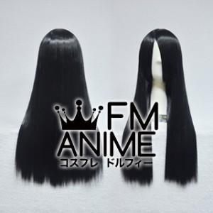 60cm Straight Black Cosplay Wig