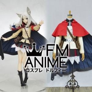 7th Dragon 2020-II Lucier Female Cosplay Costume