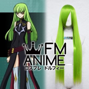 Code Geass: Lelouch of the Rebellion C.C. Cosplay Wig