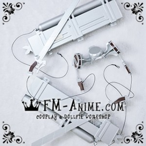 [Display] Attack on Titan 3D Maneuver Gear BJD Dollfie SD DD 1/3 Cosplay Accessories Props