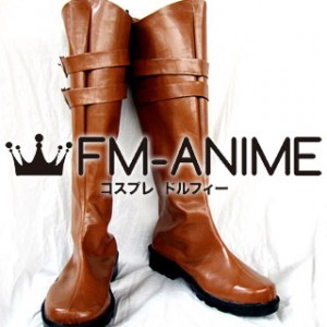 Devil May Cry 4 Credo Cosplay Shoes Boots