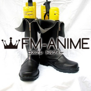 Dissidia Final Fantasy Cloud Strife Cosplay Shoes Boots