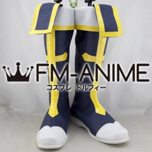 BlazBlue Jin Kisaragi Cosplay Shoes Boots