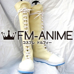 Final Fantasy VII Yuffie Kisaragi Cosplay Shoes Boots (Figure Version)