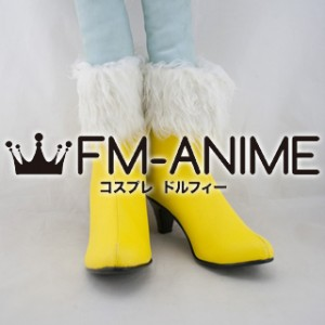 Final Fantasy XIII Oerba Dia Vanille Cosplay Shoes Boots