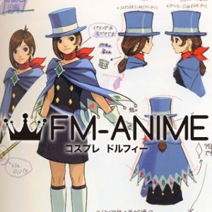 Ace Attorney Trucy Wright Cosplay Costume