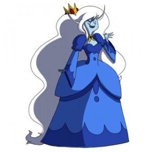 Adventure Time Ice Queen Cosplay Costume