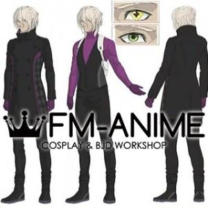 AI: The Somnium Files Date Kaname Cosplay Costume