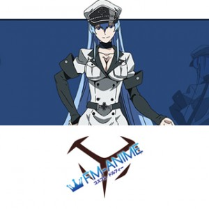 Akame ga Kill! Esdeath Cosplay Tattoo Stickers