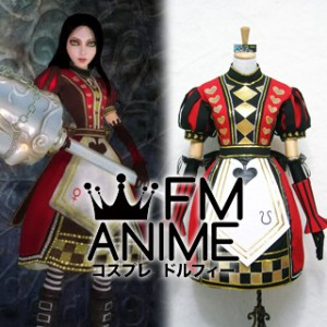 Alice: Madness Returns Alice Royal Cosplay Costume