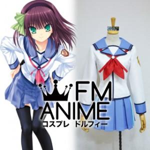 Angel Beats! Yuri Nakamura Uniform Cosplay Costume
